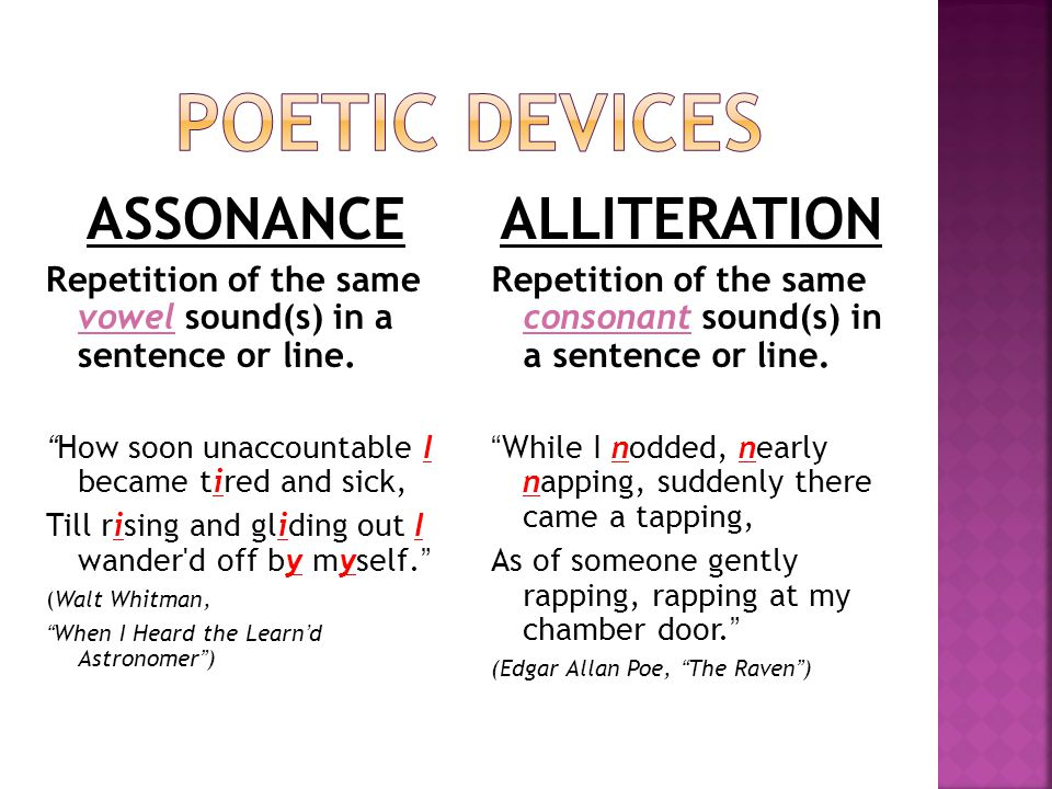 Poetic Devices Poetic Forms Ppt Video Online Download