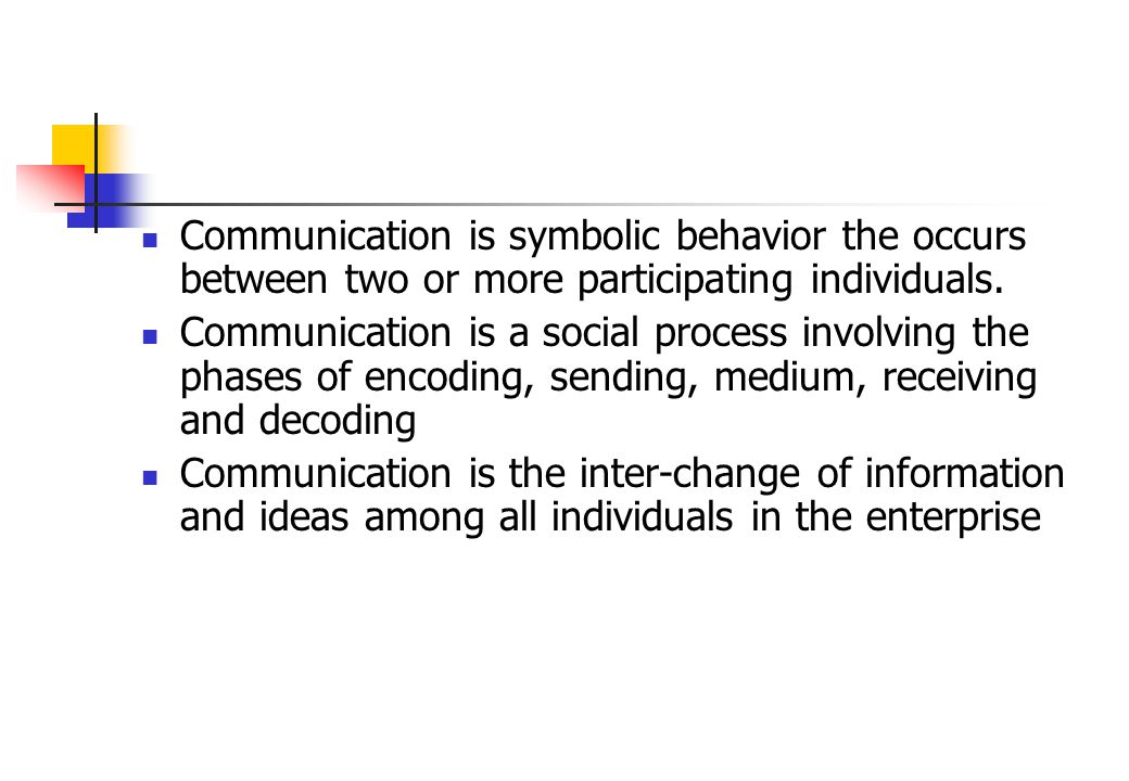 What Is Communication The Root Word Of Communication Is The Latin
