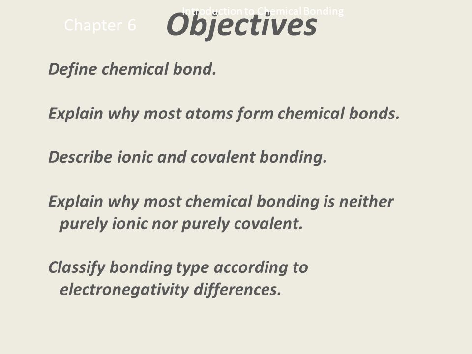 Models of chemical bonding Do chemical bonds really exist Nobody has ever seen one so the best we can do is construct models Here is a brief summary of those