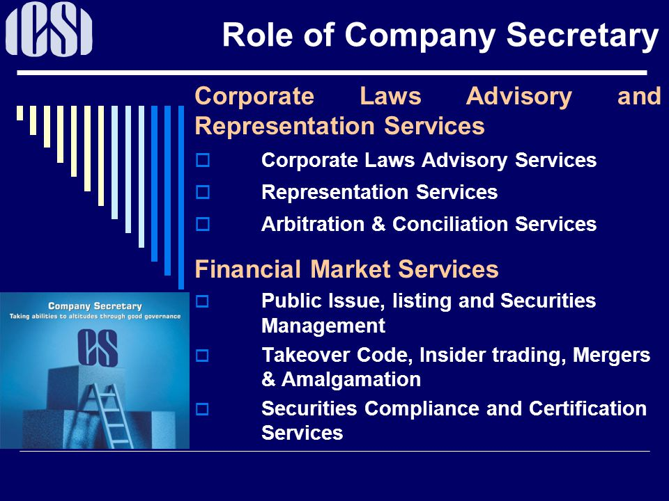 Career As A Company Secretary Ppt Download