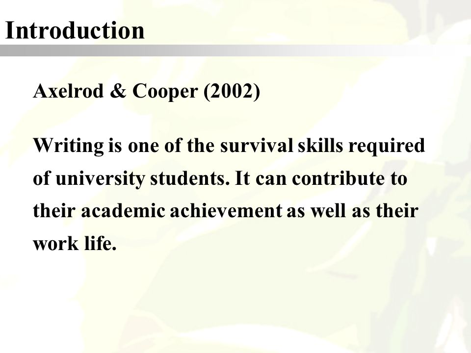 E Learning In An Efl Academic Writing Class An Online Forum Example