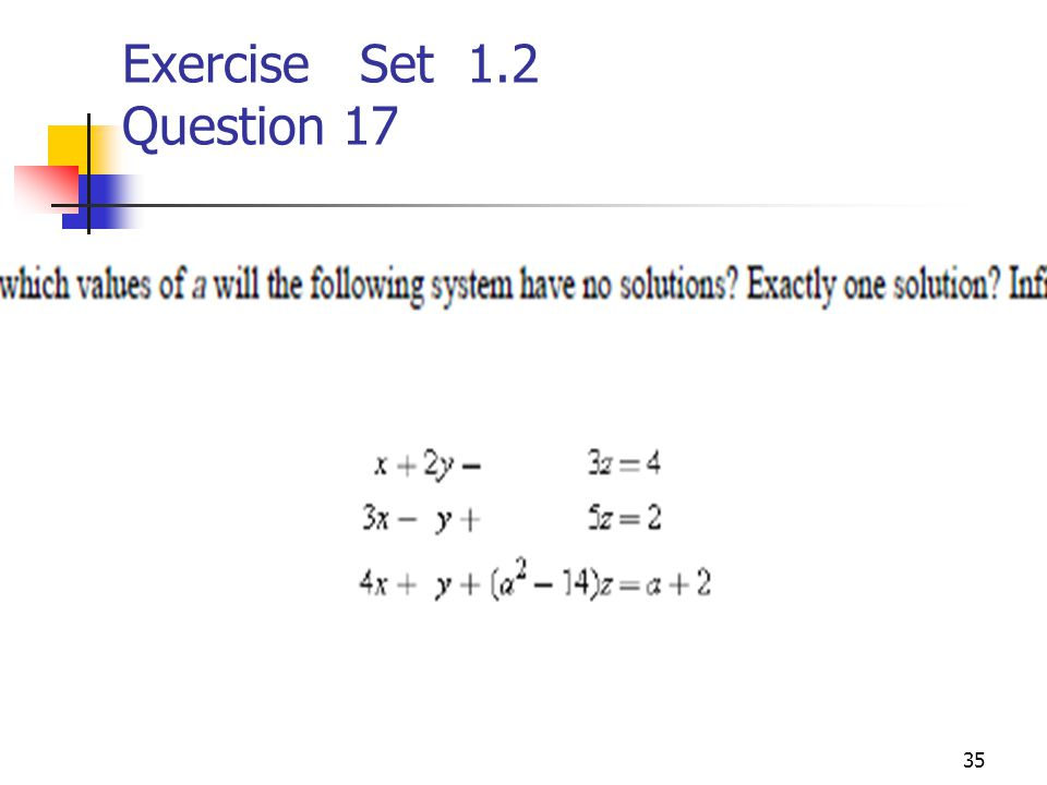 Exercise Set 1.2 Question 17
