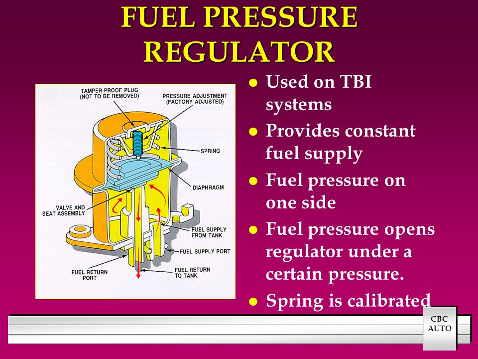 FUEL INJECTION SYSTEM OPERATION - ppt video online download