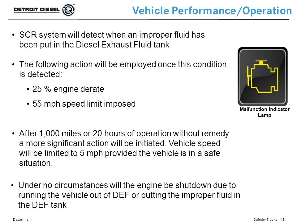 Detroit Diesel BlueTec Update - ppt video online download