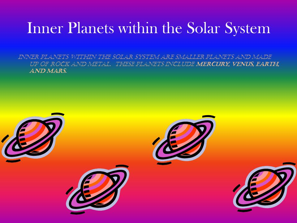 Inner Planets within the Solar System