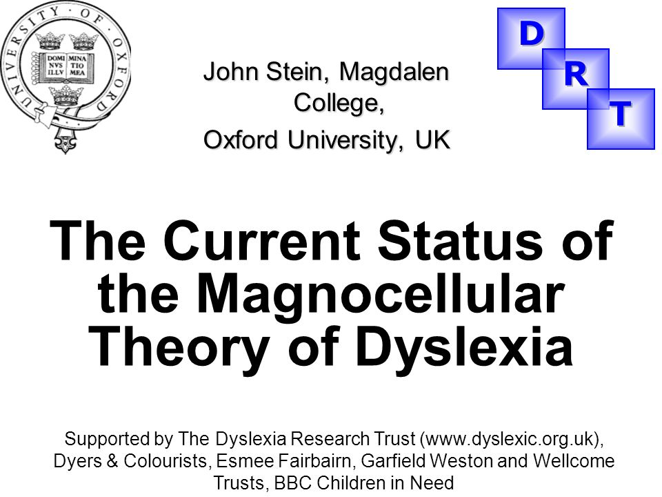 The Current Status of the Magnocellular Theory of Dyslexia