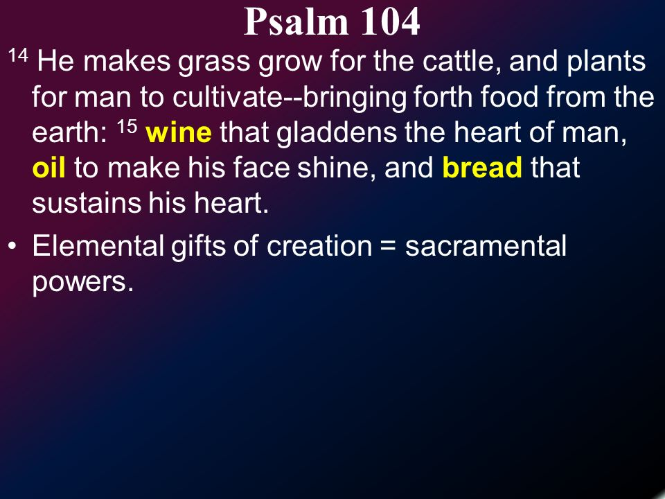 Psalms of Orientation  - ppt video online download