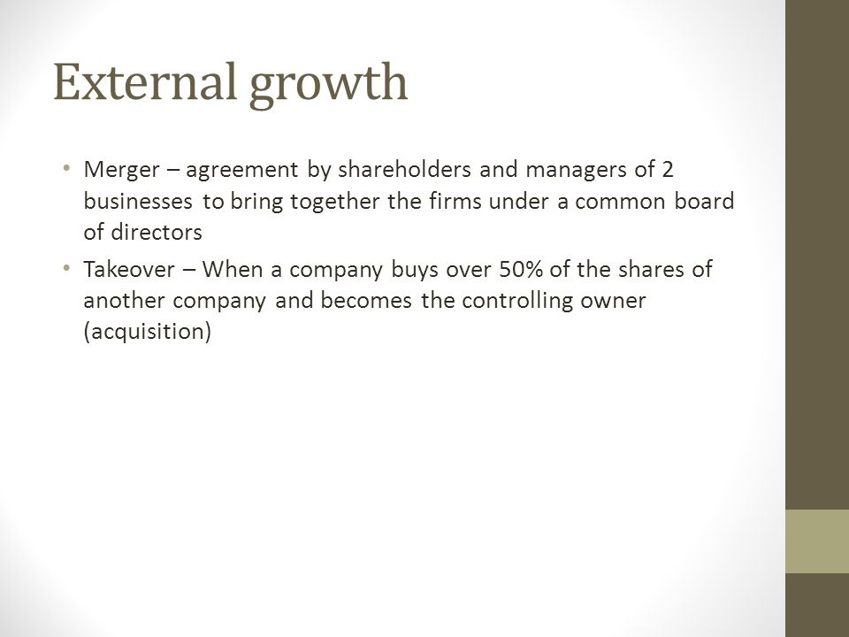 Topic 1 Business Organisation Growth Evolution Ppt Video Online
