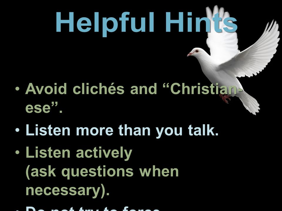 christian cliches to avoid