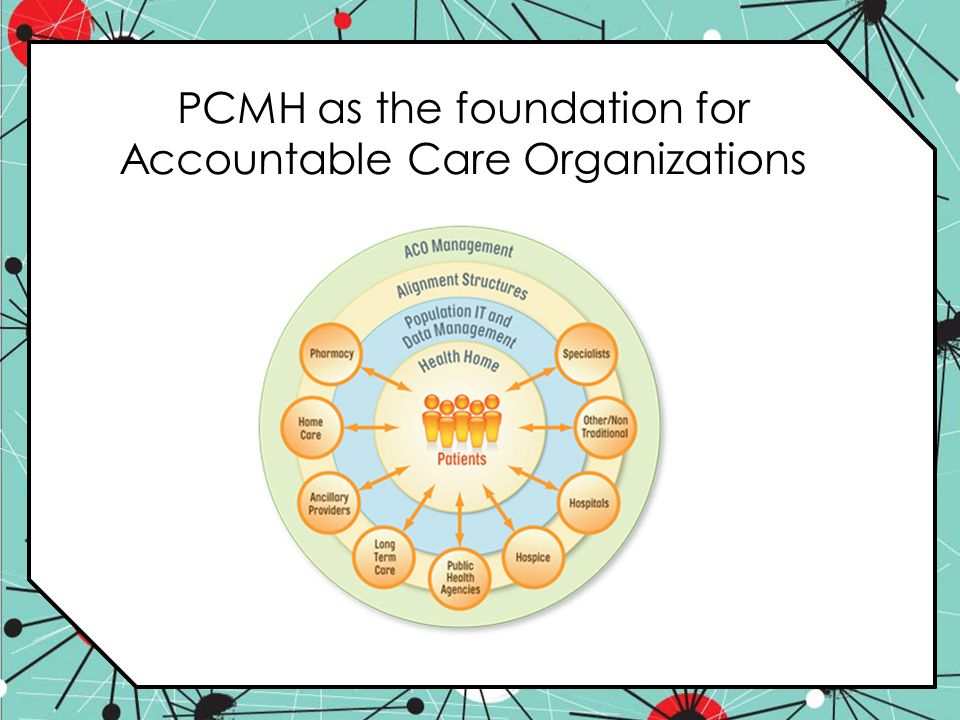 PCMH as the foundation for Accountable Care Organizations