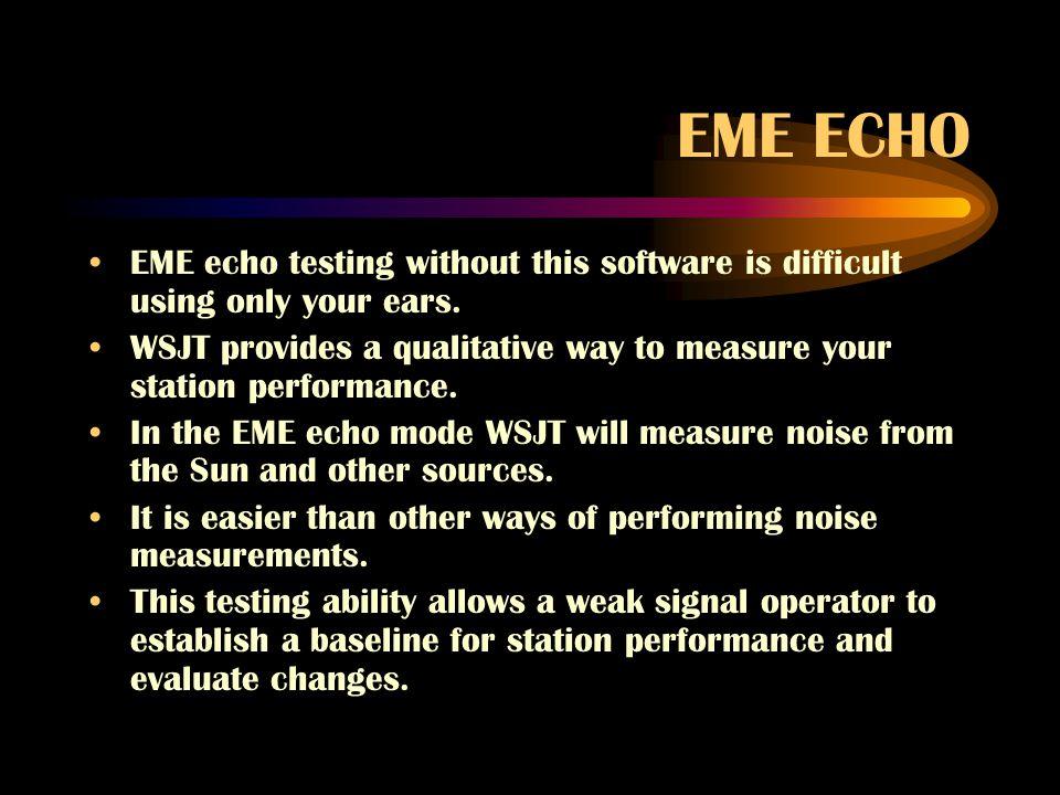 how does jt65 improve eme communications?