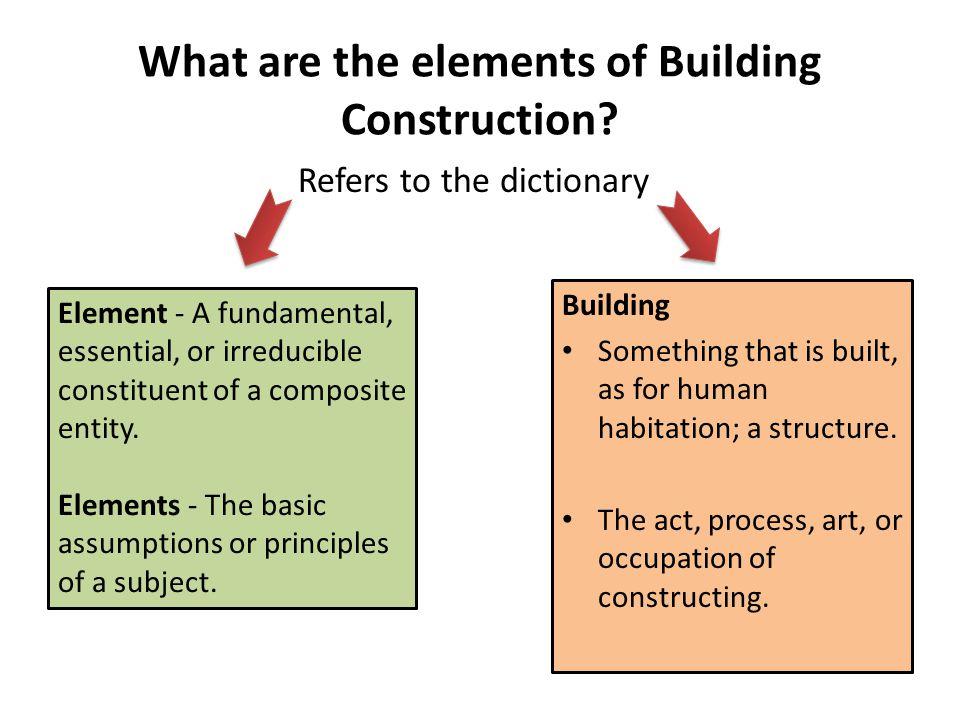 Element Of Building Construction Ppt Video Online Download