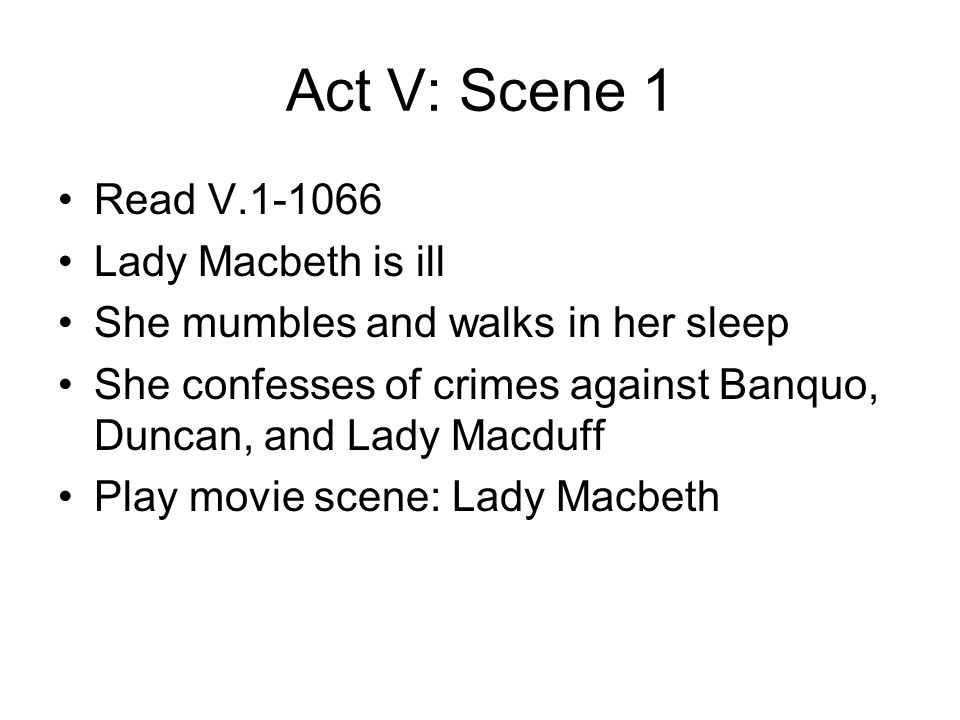 compare and contrast macbeth play and movie