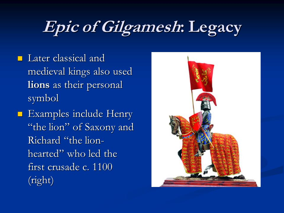 analysis the epic of gilgamesh - a jungian analysis of the epic of gilgamesh this paper will provide a unique, psychological perspective on a timeless story that is alive with mythological and religious splendor i must state clearly that this is not the first time that gilgamesh has been viewed in the light of the philosophy of jung.