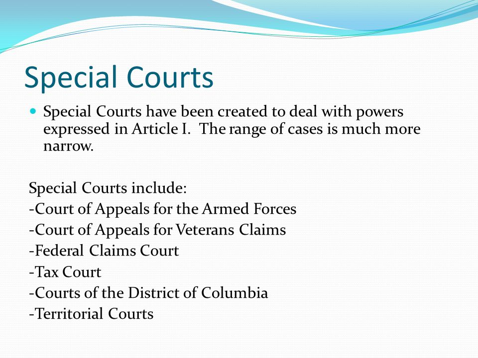 The Federal Court System Ppt Download