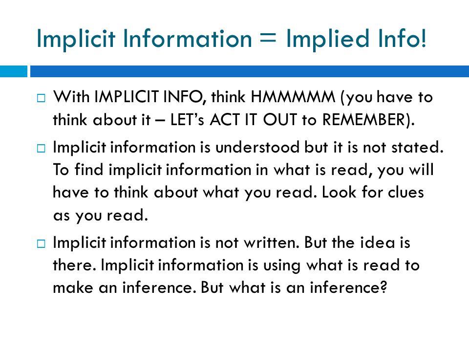 Site implicit divin implicit)
