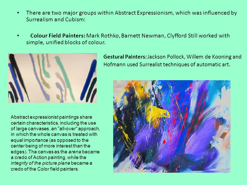 Abstract Expressionism Art Powerpoint