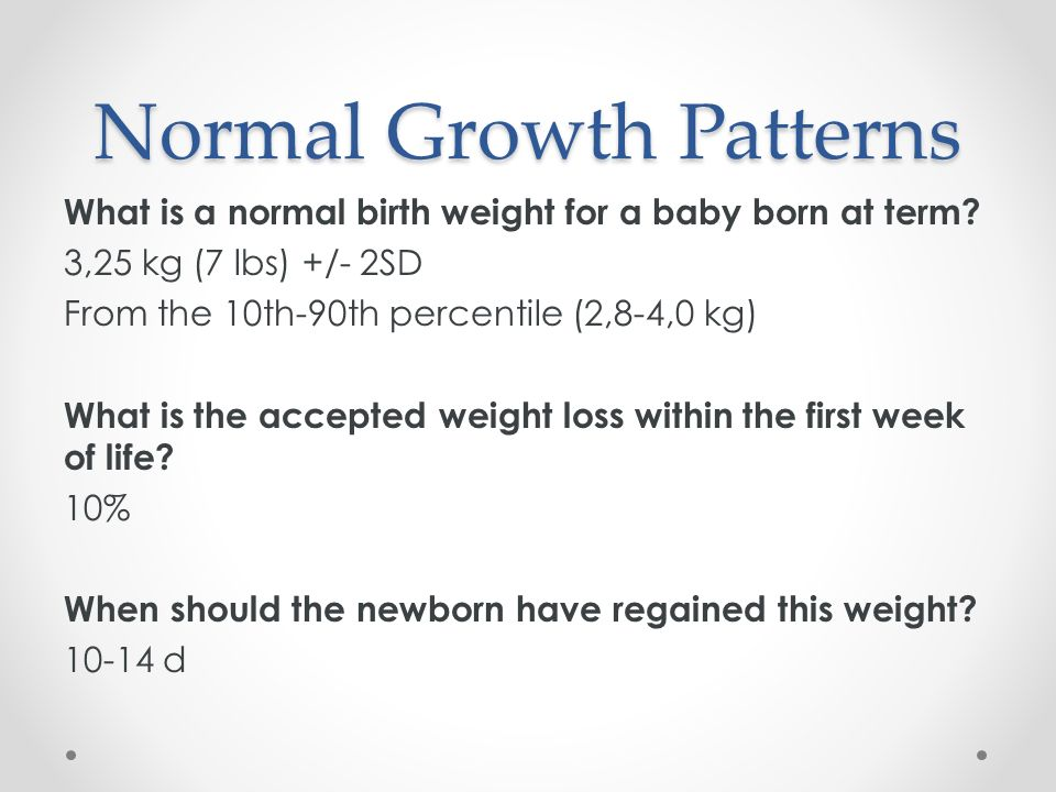 While you wait, please plot out our patient's growth - ppt video