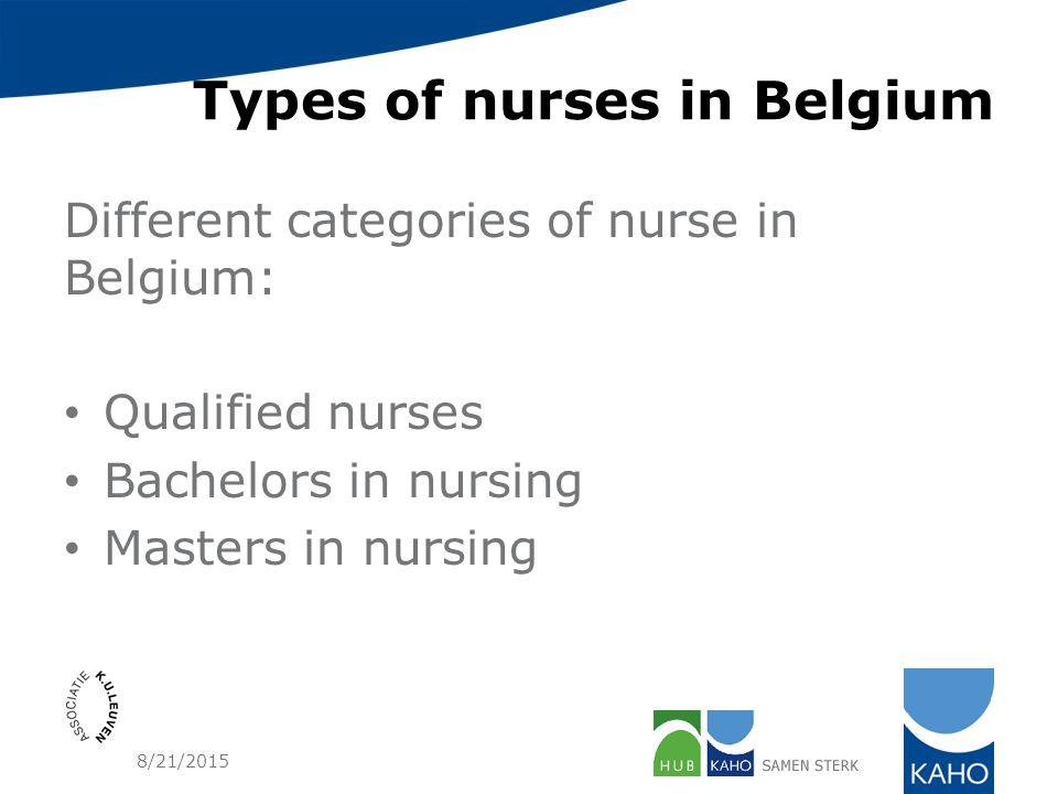 Nursing education in Belgium - ppt download