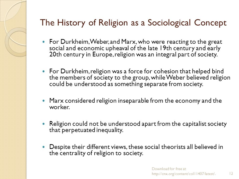 sociological theories of religion pdf