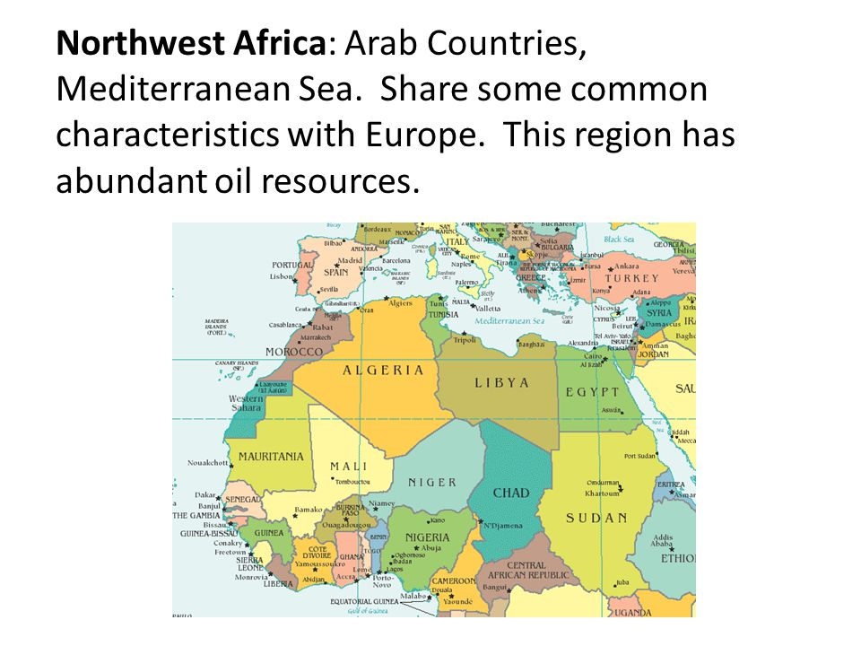 Regions of the World - Africa - ppt video online download