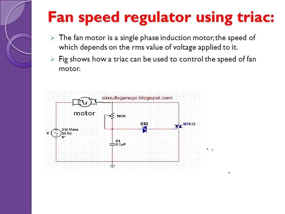 Thyristor application & photosensitive control circuits