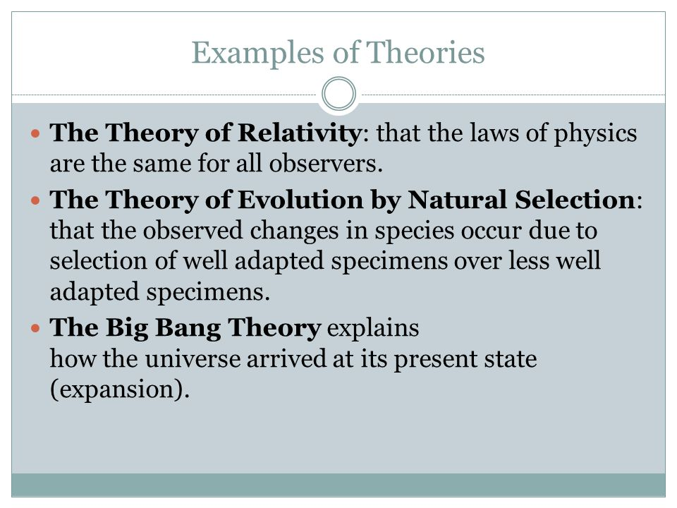 Scientific Theory And Scientific Law Ppt Video Online Download