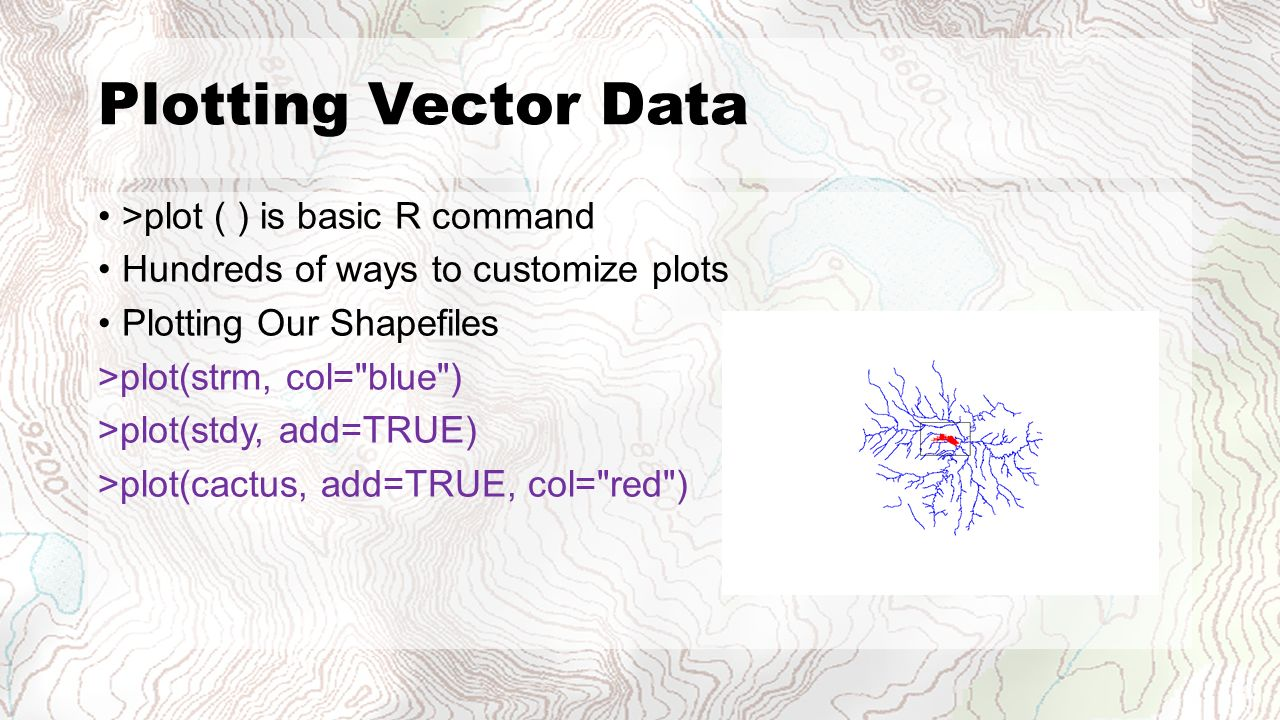 Basic GIS Functions and Spatial Stats in - ppt video online
