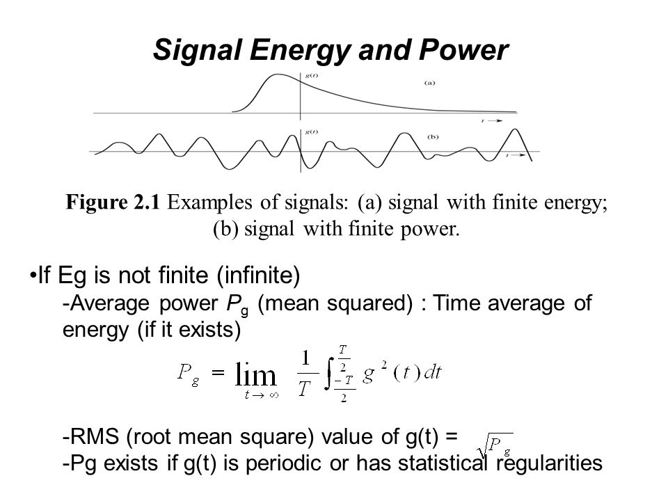 Ppt lecture 2 signals and systems (i) powerpoint presentation.