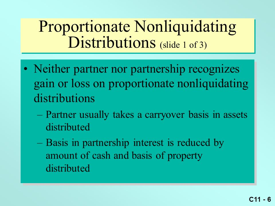 Can a partner recognize a loss from a nonliquidating distribution