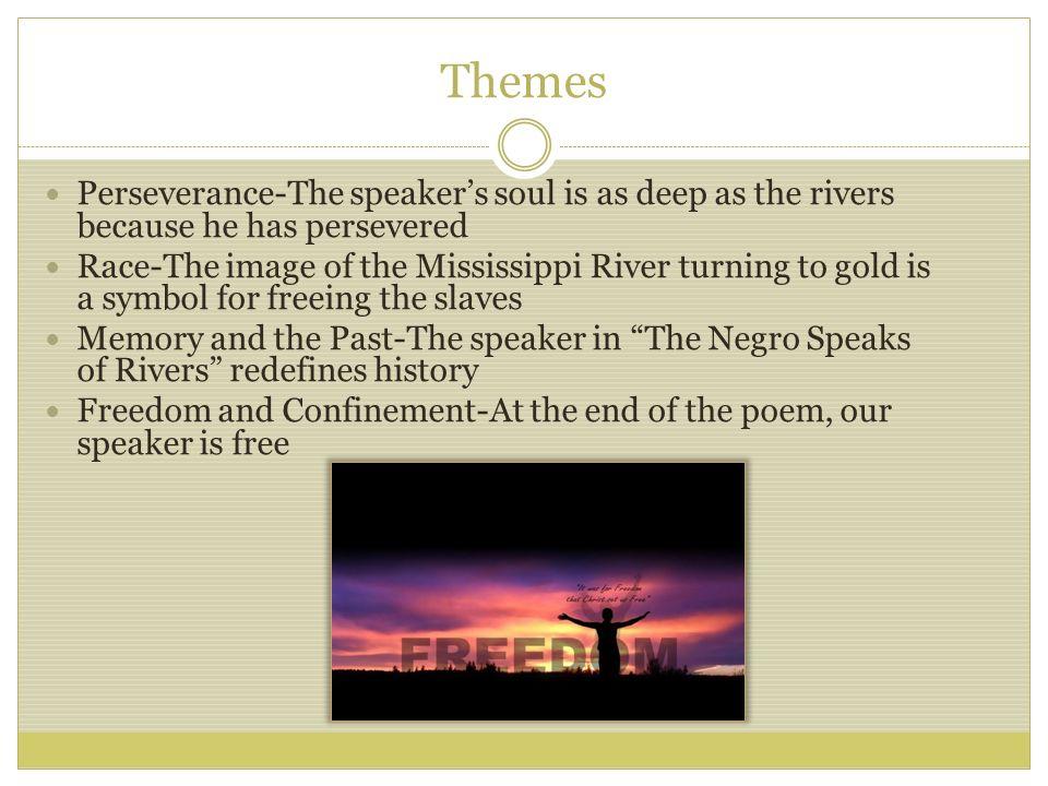 the negro speaks rivers analysis