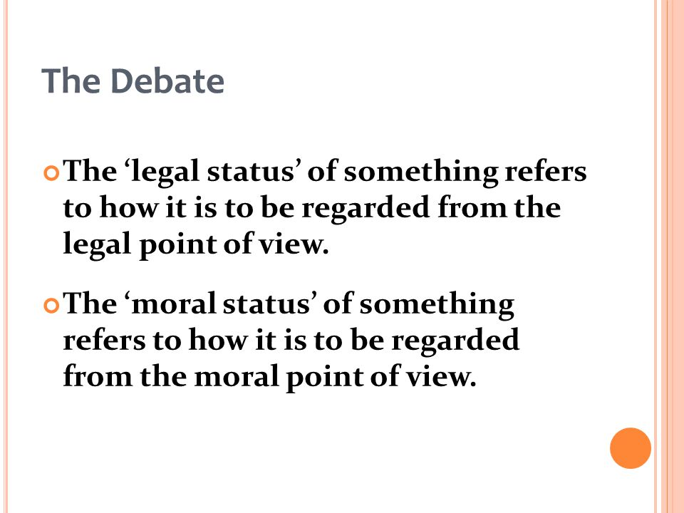 abortion point of view
