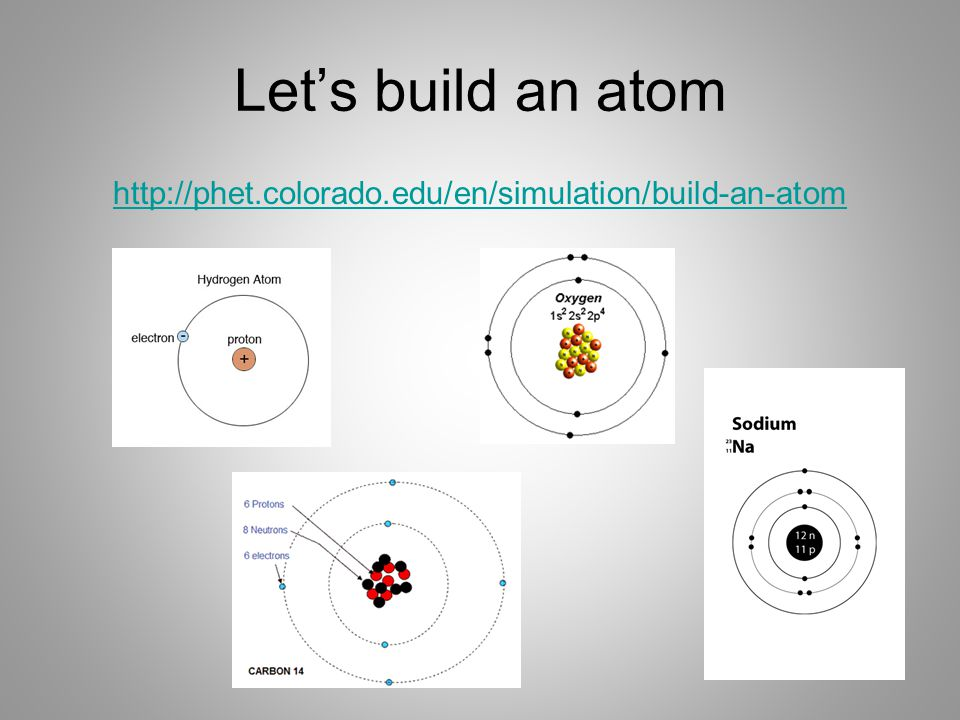 Let's build an atom http://phet.colorado.edu/en/simulation/build-an-atom