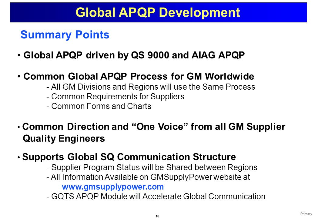 Advanced Product Quality Planning And Control Plan Apqp Ebook Download