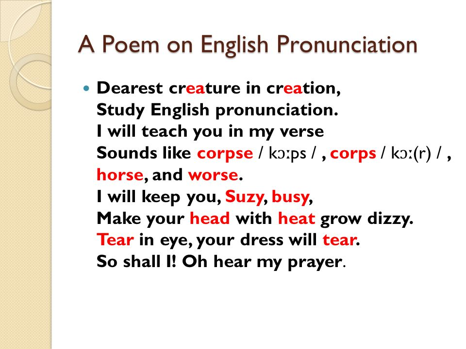 Learning English Sounds (Phonetics) - ppt video online download