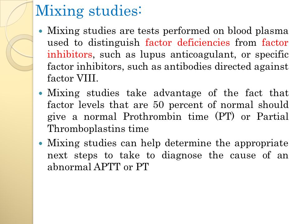 Mixing Study - an overview | ScienceDirect Topics