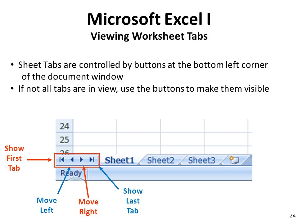 Microsoft Excel I Ppt Download. Viewing Worksheet Tabs. Worksheet. Excel Worksheet Tab Not Visible At Clickcart.co