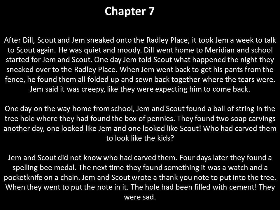 to kill a mockingbird chapter 7 summary - Hizir kaptanband co