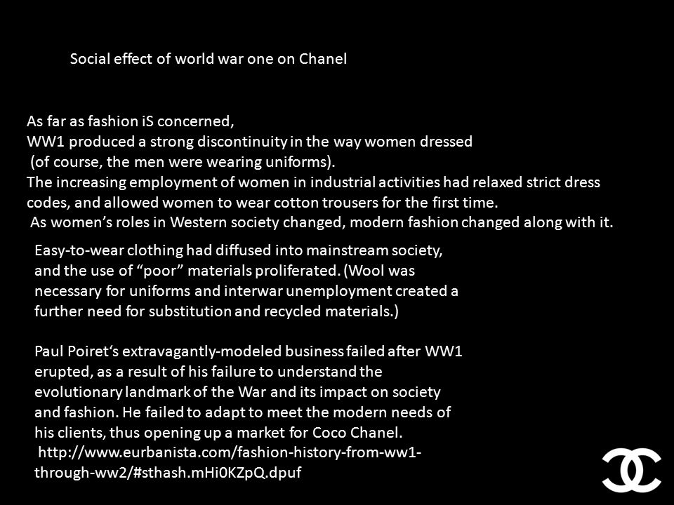 90b3cc84c4b Coco Chanel. - ppt video online download