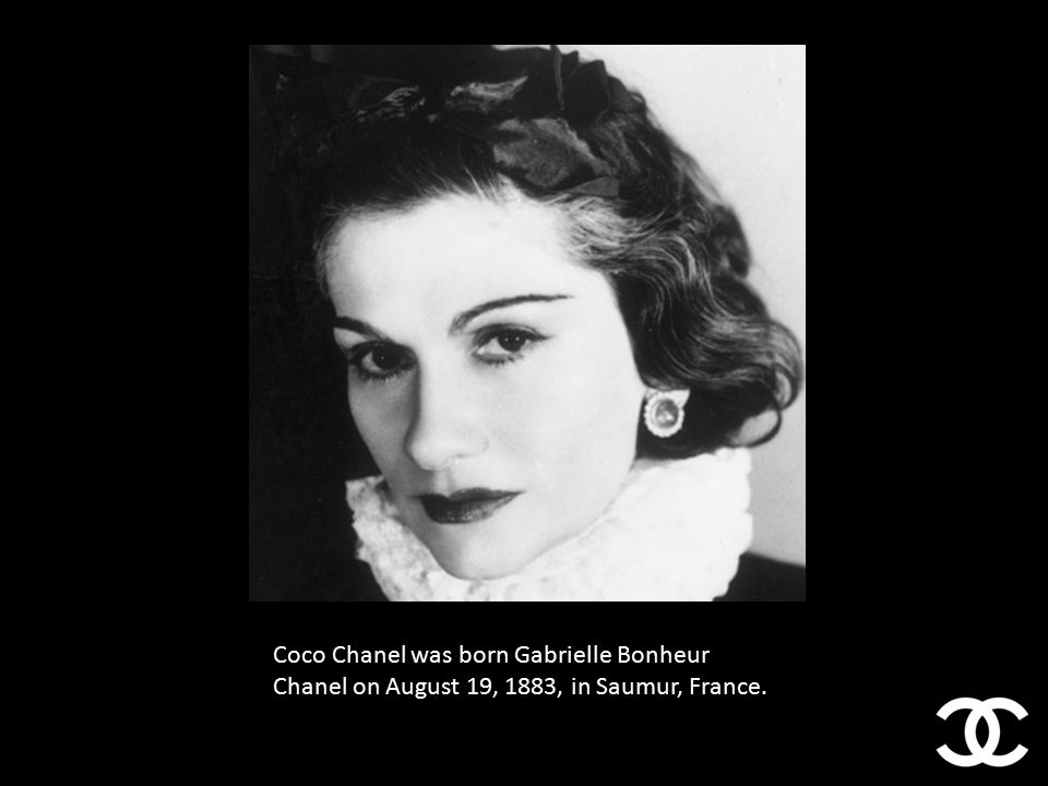 f940604caf8 2 Coco Chanel was born Gabrielle Bonheur Chanel on August 19