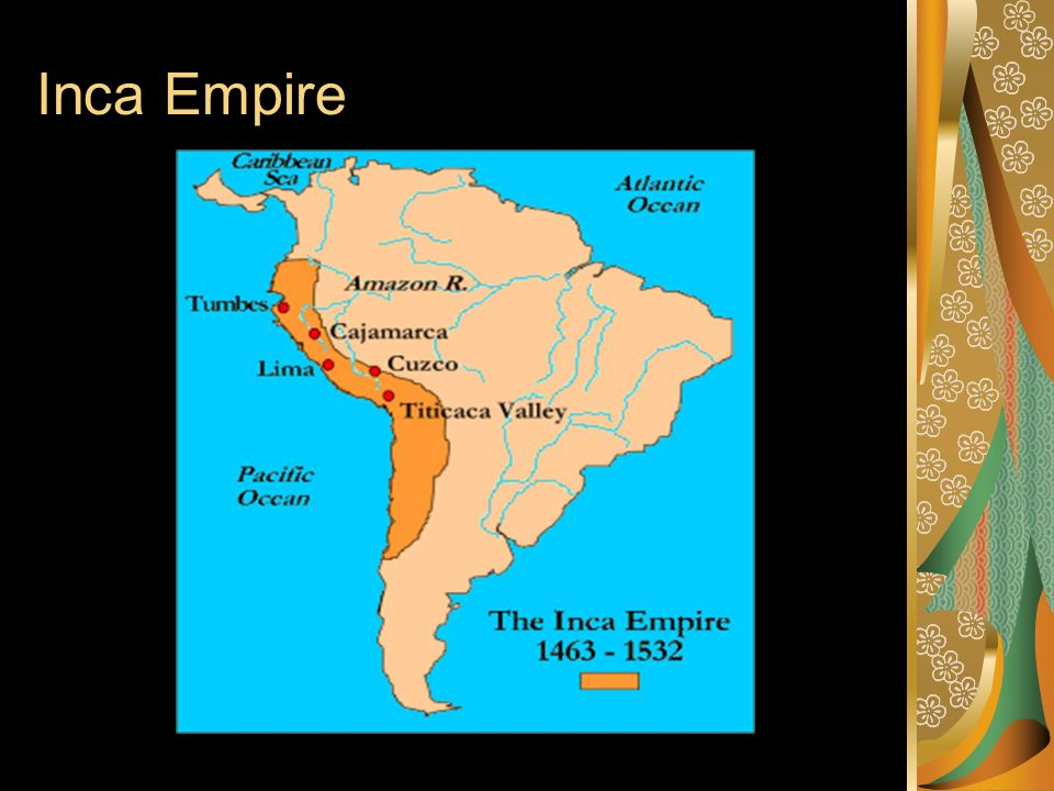Inca Empire On World Map.The Aztec And Inca Empires Ppt Video Online Download