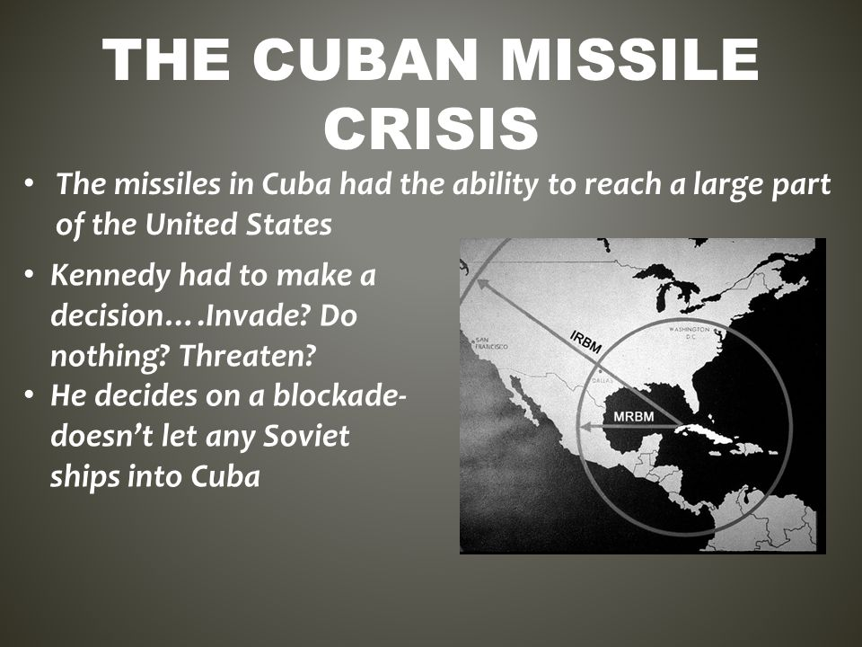 an analysis of cuban missile crisis journal on russian government the cuban missile crisis the cuban missile crisis was a period of thirteen days, lasting from october 14 to october 28, 1962, during which nuclear war with the soviet union seemed imminent in the height of the cold war, russia had stationed nuclear warheads in cuba.