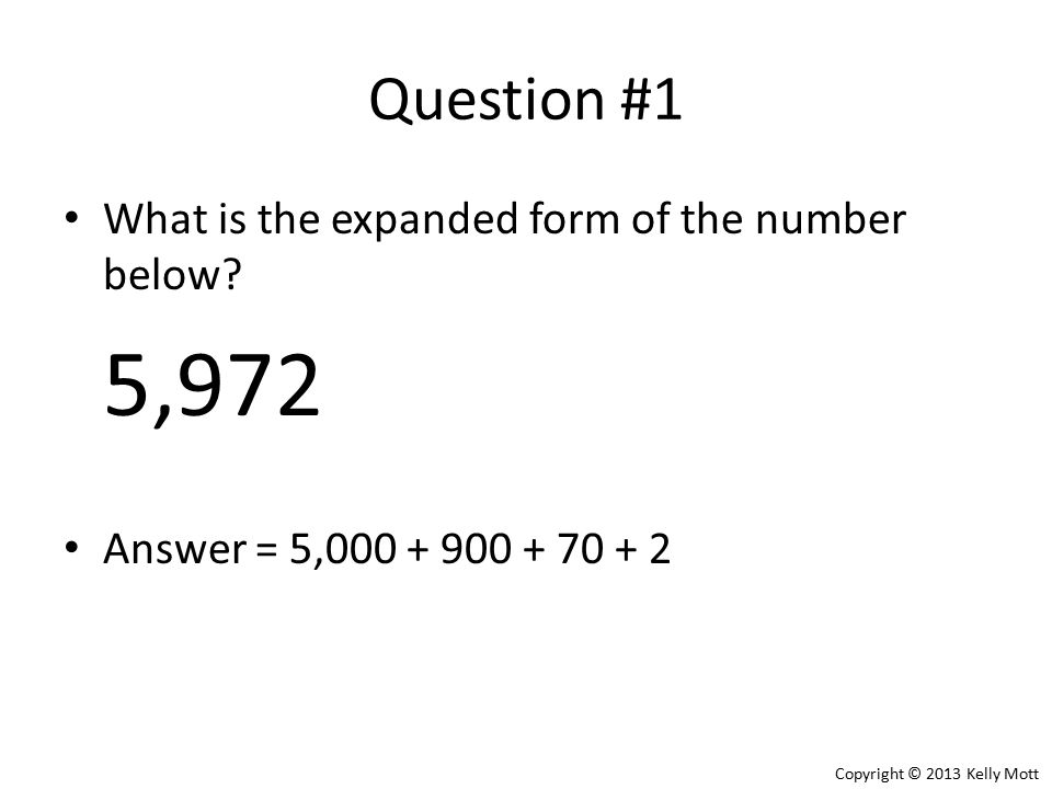 Expanded Form Of Number Images Free Form Design Examples