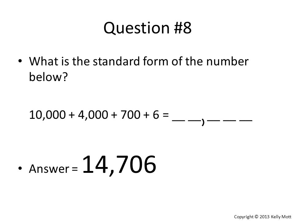 Three Ways To Write A Number To The Hundred Thousands Place Ppt