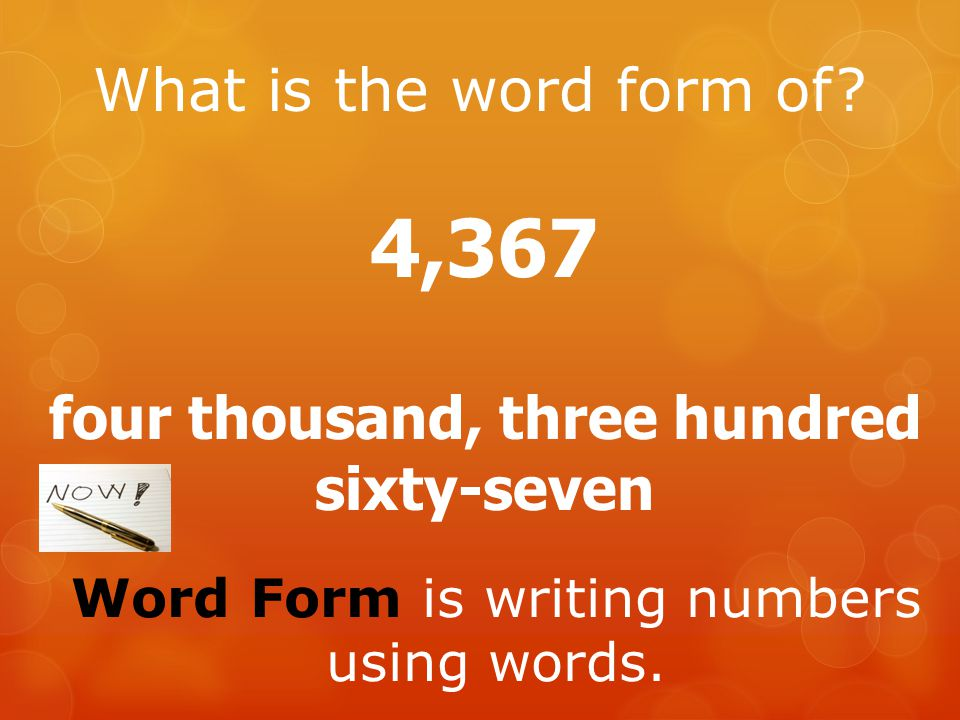 what has only two words but thousands of letters place value ppt 802