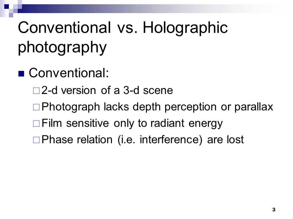 Holography applications ppt