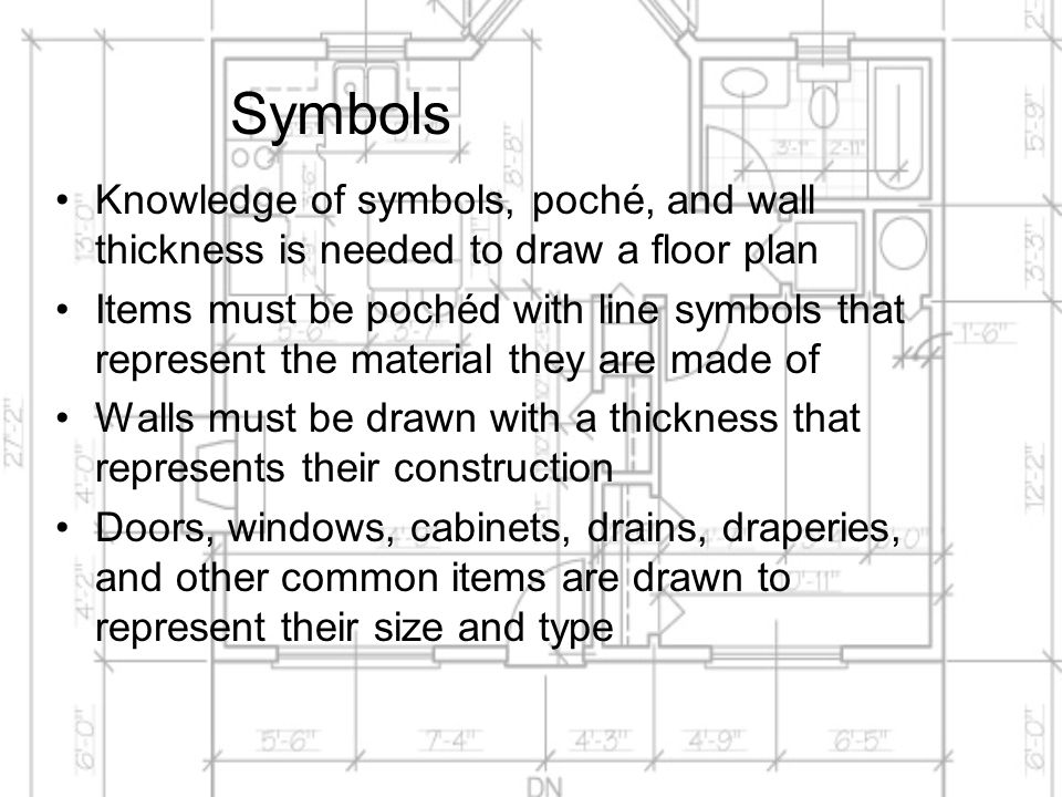 Drafting And Dimensioning The Architectural Floor Plan Ppt Video