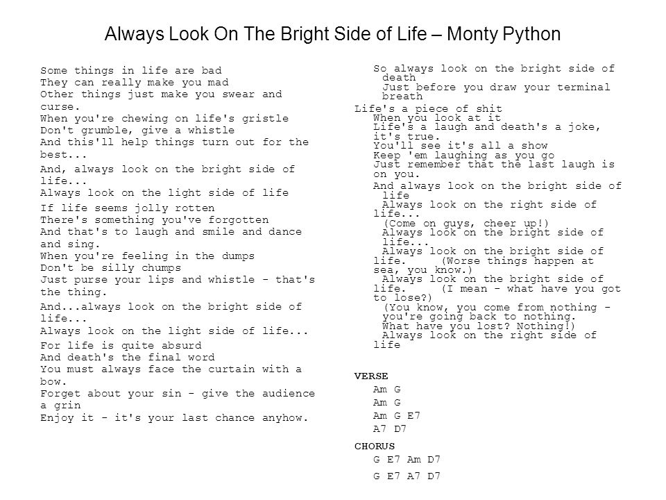 Jambook Index Addams Family Always Look On The Bright Side Of Life