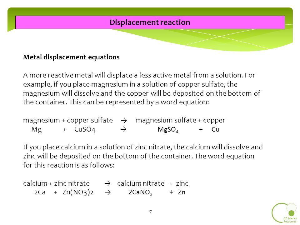 Ncea As S18 Chemical Reactions Ncea L1 Science Ppt Video Online