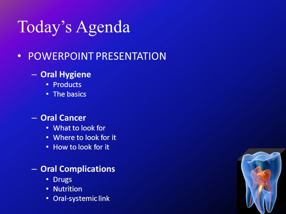 Welcome Home  Welcome to Oral Health  - ppt video online